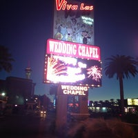 Photo taken at Viva Las Vegas Wedding Chapel Inc. by Sterling D. on 1/11/2013