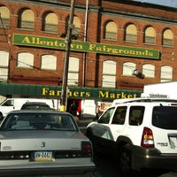 Photo taken at Allentown Farmers Market by Christine H. on 12/22/2012