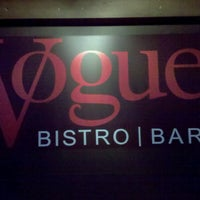 Photo taken at Vogue Bistro by Mike S. on 1/3/2013