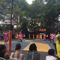 Photo taken at West 4th Street Courts (The Cage) by NYC H. on 7/17/2016