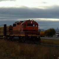 Photo taken at Central Oregon & Pacific Railroad by Douglas B. on 11/12/2012