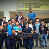 Photo taken at Mehmet Akif Ersoy Çok Programlı Lisesi by Babalar on 9/21/2016