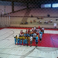Photo taken at Interno Futsal G1-SPFC by Rodrigo S. on 10/28/2012