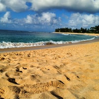 Photo taken at Sunset Beach Park by Vanessa K. on 11/20/2012