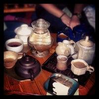 Photo taken at Dobra Tea by lyndsay vi p. on 7/13/2012