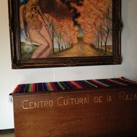 Photo taken at Centro Cultural De La Raza by Martha L. on 2/16/2014