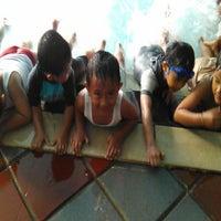 Photo taken at Nirmala Swimming Pool by Wika A. on 8/29/2014