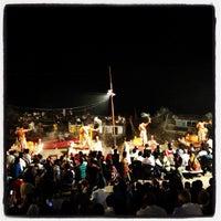 Photo taken at Dasaswamedh Ghat by Ulises C. on 10/14/2012