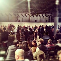 Photo taken at Highline Stages by Justin F. on 2/12/2013