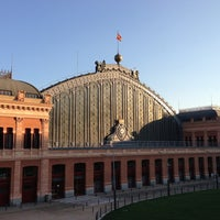 Photo taken at Madrid-Puerta de Atocha Railway Station by Kazutoshi A. on 9/4/2013