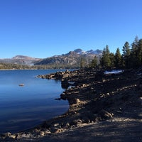 Photo taken at Caples Lake by Paulina on 11/18/2013