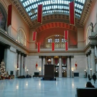 Photo taken at Chicago Union Station by Sara V. on 12/26/2012