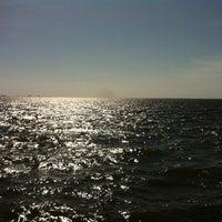 Photo taken at Sea Wall NAS Pensacola by niki d. on 4/8/2013