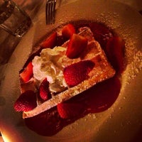 Photo taken at Belgium Waffles by Kevin on 3/29/2013
