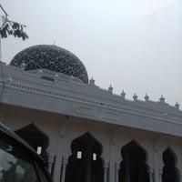 Photo taken at Masjid Al Hikmah Cunda by Fairuz I. on 3/2/2014