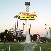 Photo taken at Camelot Golfland by Remo S. on 8/1/2013