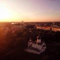 Photo taken at Псков / Pskov by Dmitry T. on 10/15/2016