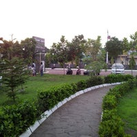 Photo taken at Usman Janatin City Park by Gilang F. R. on 10/28/2012