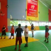 Photo taken at Hanggar Futsal by Febrian T. on 1/31/2015