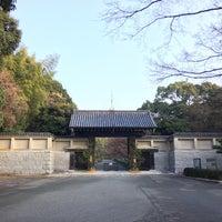 Photo taken at 毛利氏庭園 by 風来坊🎲 on 12/31/2015