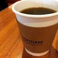 Photo taken at Kopitiam Singapore Toast Cafe by Seven S. on 1/21/2015
