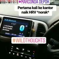 Photo taken at Jalan Margonda Raya by Satrio P. on 7/10/2017