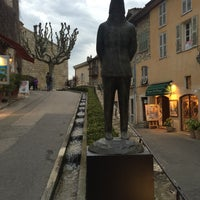 Photo taken at La Place de Mougins by Ö. Ö. on 4/3/2016