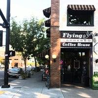Photo taken at Flying M Coffeehouse by Blake B. on 8/19/2013