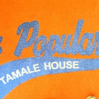 Photo taken at La Popular Tamale House by Blake B. on 9/7/2013