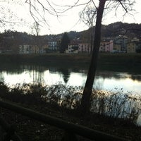 Photo taken at Lungo Po Antonelli by Edo L. on 12/5/2012