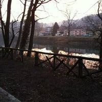 Photo taken at Lungo Po Antonelli by Edo L. on 1/14/2013