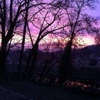Photo taken at Lungo Po Antonelli by Edo L. on 12/20/2012