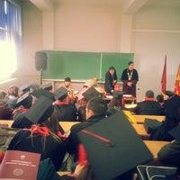 "Photo taken at Универзитет ""Гоце Делчев"" - Кампус 2 by Dejan R. on 12/26/2013"