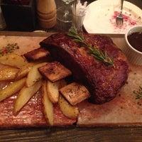Снимок сделан в Red. Steak & Wine пользователем Eldar K. 7/24/2014