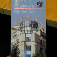 Photo taken at Permanent Representation of Austria to the EU by Martin M. on 5/7/2013
