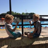 Photo taken at Highbridge Park Pool by aмanda~ on 7/25/2014