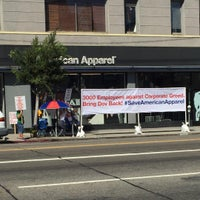 Photo taken at American Apparel by Annel A. on 9/28/2015