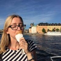 Photo taken at Riddarfjärden by Sandra S. on 5/24/2016