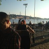 Photo taken at Café Riddarholmen by Sandra S. on 7/26/2013