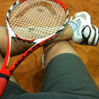 Photo taken at Racket Sports by Jorge L. on 10/30/2012