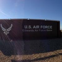 Photo taken at Edwards Air Force Base by Matthew C. on 8/9/2013