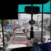 Photo taken at Jalan Medan-Binjai by Zulhidayat A. on 1/9/2015