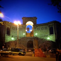 Photo taken at Piazza Costituzione by Paolo B. on 4/30/2015