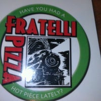 Photo taken at Fratellis Pizza by Paul G. on 10/6/2012