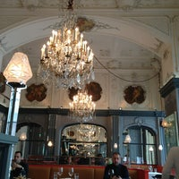 Photo taken at Brasserie Мост by Tanya on 3/6/2013