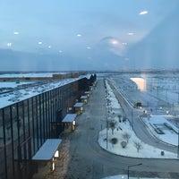 Photo taken at Hampton by Hilton Saint Petersburg ExpoForum by Владимир М. on 2/14/2018
