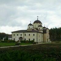 """Photo taken at Mănăstirea """"Nașterea Domnului"""" Zăbriceni by Unzip Z. on 11/10/2012"""