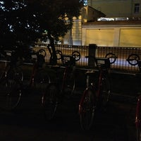 Photo taken at Велобайк № 010 by 1 Vitaly on 8/16/2013