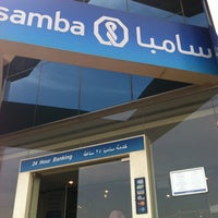 Photo taken at Samba Bank by Ahmed A. on 10/20/2012