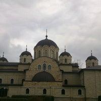 """Photo taken at Mănăstirea """"Nașterea Domnului"""" Zăbriceni by Int20h on 11/10/2012"""